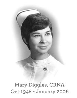 Outpatient Anesthesia Services - Founder Mary Diggles, CRNA